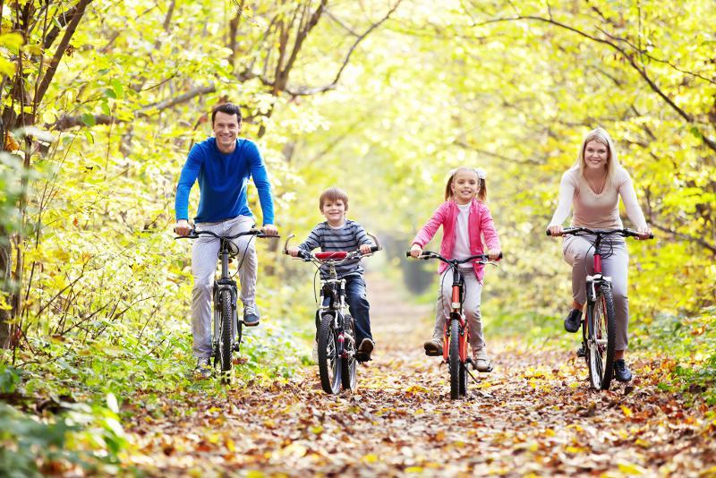 Wycieczka na rowerach